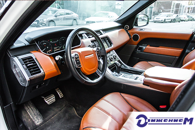 Land Rover Range Rover Sport Салон Кожа Аренда